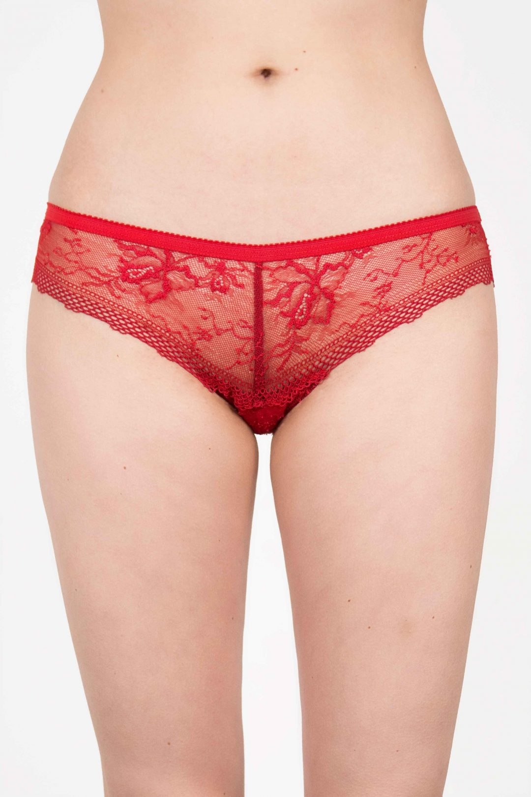 Photo of a very sexy luxurious red lace panties for women | IDentity Lingerie UK